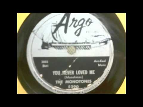 The Monotones - You Never Loved Me (original version)!
