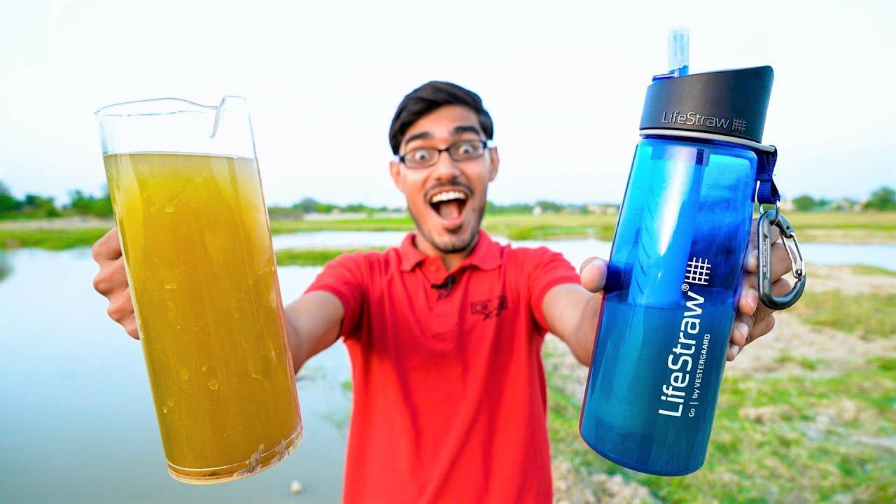 LifeStraw Go | मज़े से पीओ गन्दा पानी- कहीं भी कभी भी