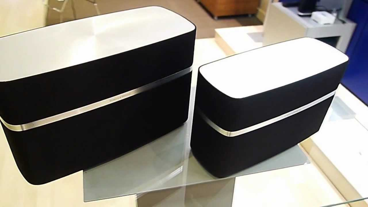 altavoz airplay bowers a5 y b w a7 youtube. Black Bedroom Furniture Sets. Home Design Ideas