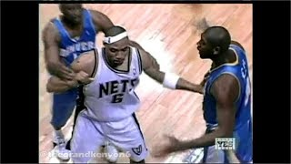 Nets & Nuggets get chippy (RJ - 'Melo; K-Mart - Nenê)