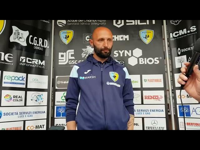Giuseppe Bianchini commenta il successo dell'Arzignano Valchiampo contro la Clodiense