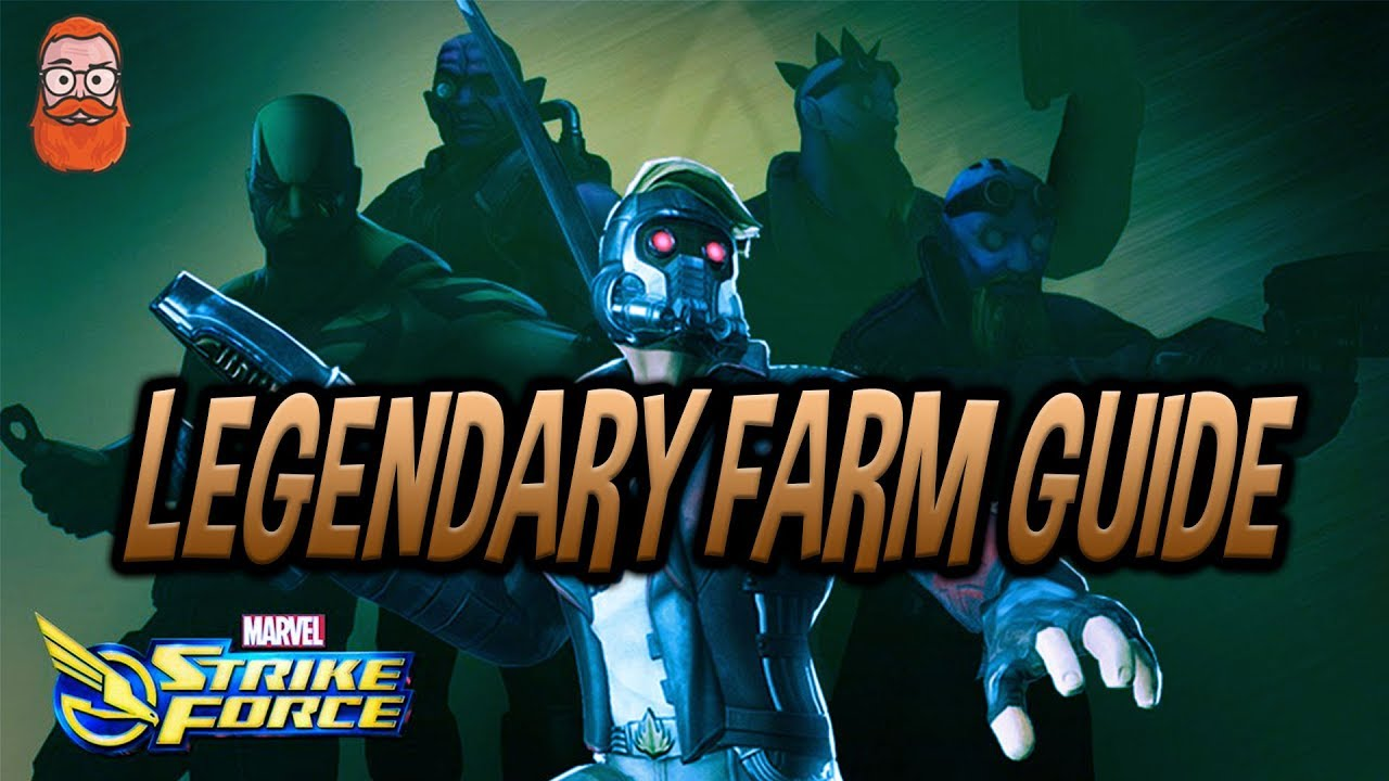 Beginner Guide To Legendary Farming Marvel Strike Force Msf Youtube