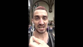 WHATSAPP AUDIO - NOT MY REAL VOICE!!! perdido en firenze, italia - ...