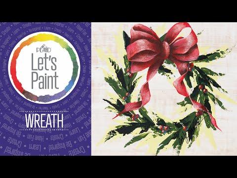 FolkArt Studio Series: Let's Paint a Wreath