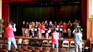 The Cast Of Les Miserables Visits Academie Lafayette - Kansas City, Mo