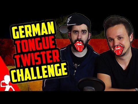 German Tongue Twister Challenge   Deutsche Zungenbrecher   Part 1   Get Germanized /w VlogDave