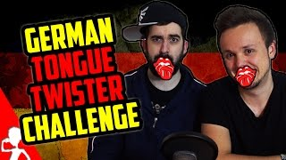German Tongue Twister Challenge | Deutsche Zungenbrecher | Part 1 | Get Germanized /w VlogDave