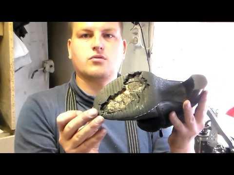 Как я разбираю обувь на каблуке. Замена подошвы. Ремонт обуви в Запорожье