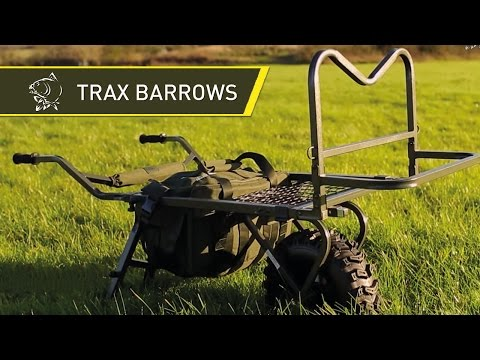 Nash TRAX Carp Fishing Barrows - Nash 2014 Carp Fishing DVD Movie