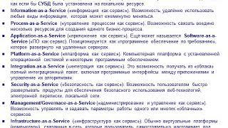 ИНФОРМАТИКА. Лекция 7. Облачные технологии для гр. БЭс-191.3