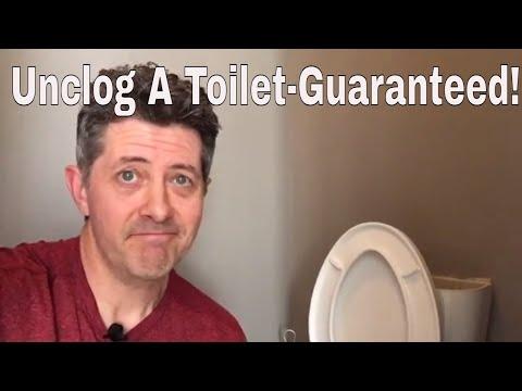 Unclog A Toilet-3 Different Ways Guaranteed!