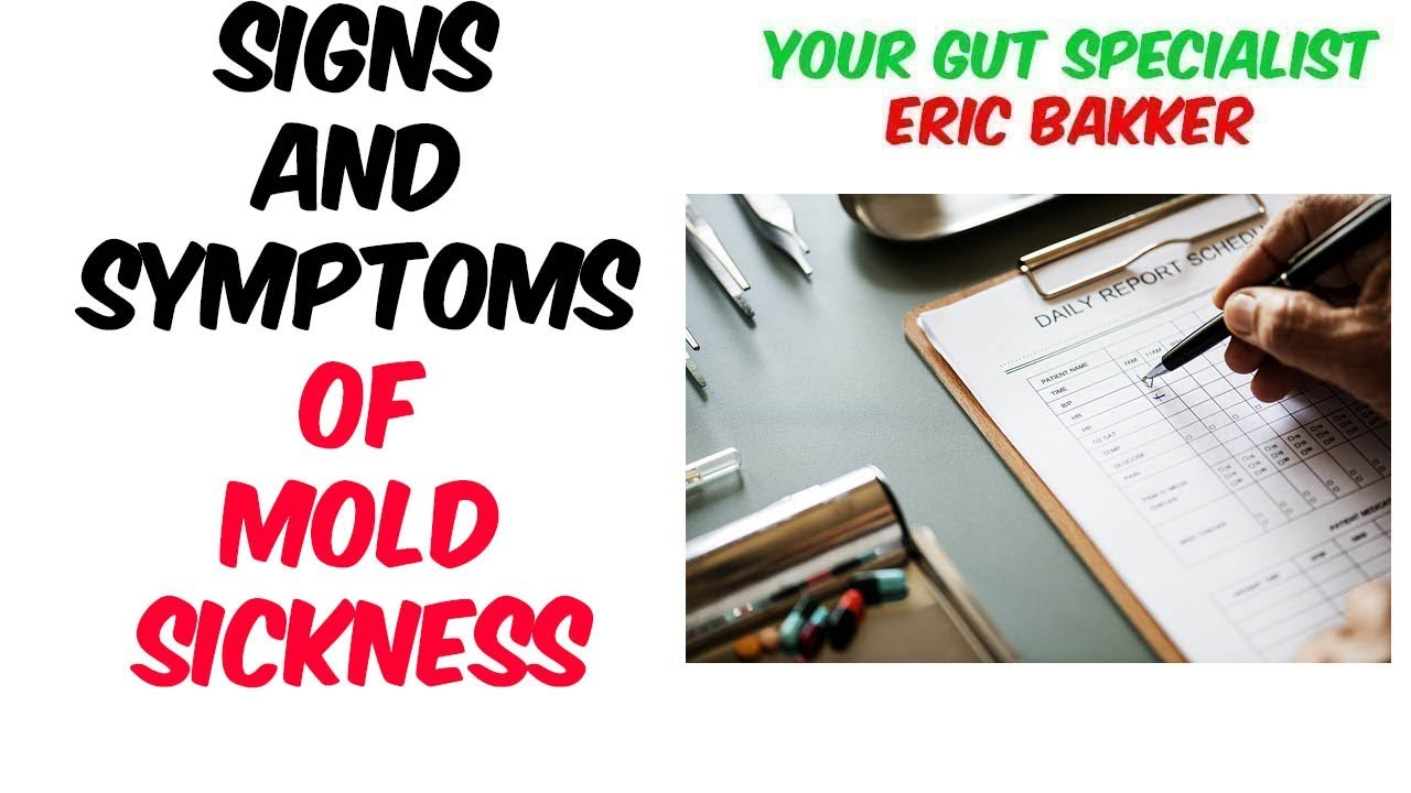 Signs And Symptoms Of Mold Sickness Or Allergy