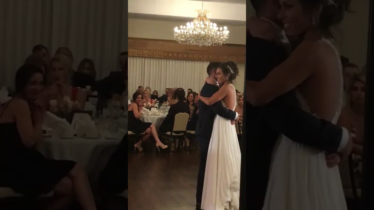 "Larry Alltop Sings ""Unchained Melody"" to His Daughter at Her Wedding"