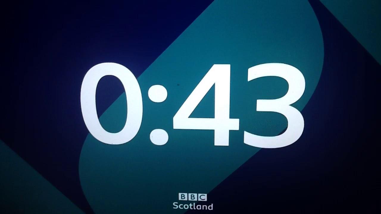 BBC Scotland launch night