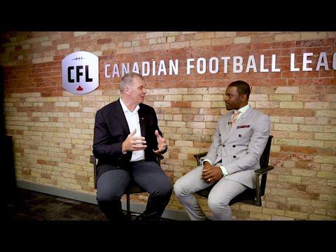 Sitdown With CFL Commissioner Randy Ambrosie - Part 1