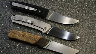 """Ножи от Сержанта: """"Лисёныш"""",""""Фрейм-2"""", """"Мне подарили"""" - сплошной восторг."""