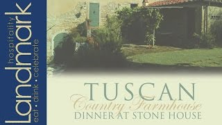 Tuscan Country Farmhouse Dinner At Stone House At Stirling Ridge | Warren, Nj