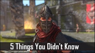 Skyrim 5 Things You Probably Didn t Know You Could Do - The Elder Scrolls 5 Secrets Part 8