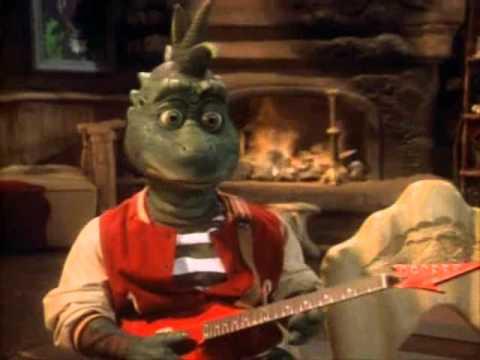 Família Dinossauro - Bob cantando (Olha pra miiiiiim ... Cantando Music