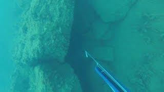 Кубики и плиты. Подводная охота в Крыму.