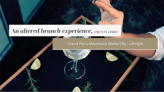 A Dubai altered brunch experience | TWENTY THREE Rooftop Bar