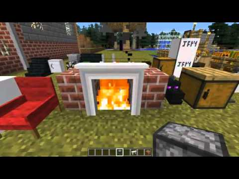 Minecraft Mods Jammy Furniture Mod 20 New Furniture Youtube