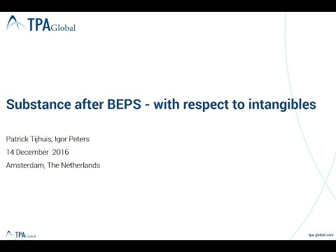 Substance after BEPS; Value Chain Analysis required?