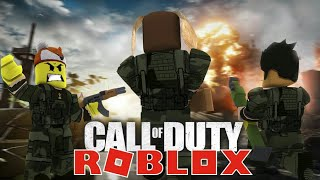 JOINING THE ARMY IN ROBLOX - WHEN FRIENDS BECOME ENEMIES