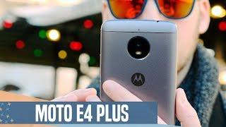 Moto E4 Plus review: buena CONECTIVIDAD, mejor BATERÍA