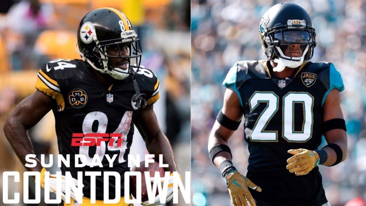 premium selection b7fef 17904 Jalen Ramsey is out to embarrass Antonio Brown   NFL Countdown   ESPN