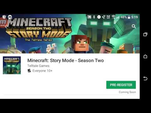 Minecraft Story Mode Season 2 on Google Play Store (COMING SOON)