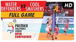 Water Defenders vs. Cool Smashers | WV Full Game | 1st Set | PVL Open Conference | July 5, 2017