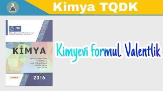 Kimya dersi 6. Kimyəvi formul. Valentlik (chemical valence)