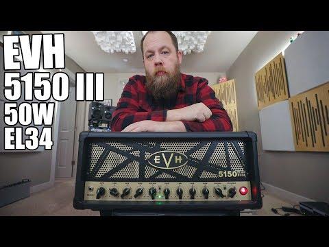 EVH 5150 III 50W EL34 - Demo