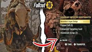 Fallout 76 | How to Instantly Complete the Imposter Sheepsquatch Event Solo!