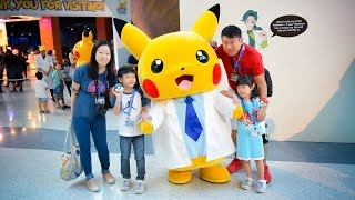 Pokemon Research Exhibition in Singapore @ S.E.A. Aquarium, Resorts World Sentosa