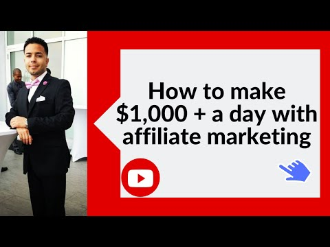💥 How to make $1,000 + a day with affiliate marketing ✌ thumbnail