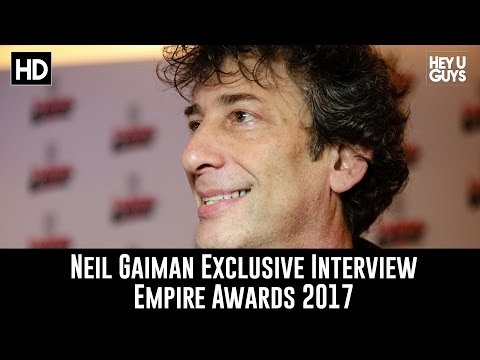 Neil Gaiman - 2017 Empire Awards Red Carpet Interview - American Gods