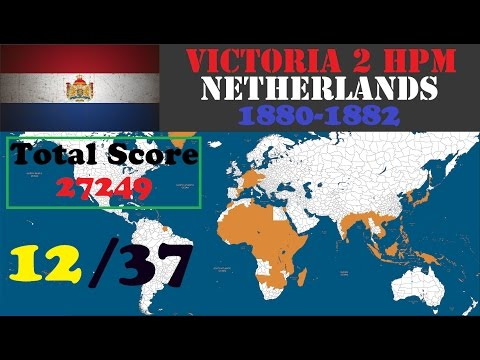 Victoria 2 HPM: Netherlands 1880-1882 Play (No voice)