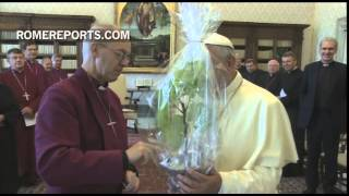 Pope to Anglican Primate: Our division is nothing less than a scandal and burden