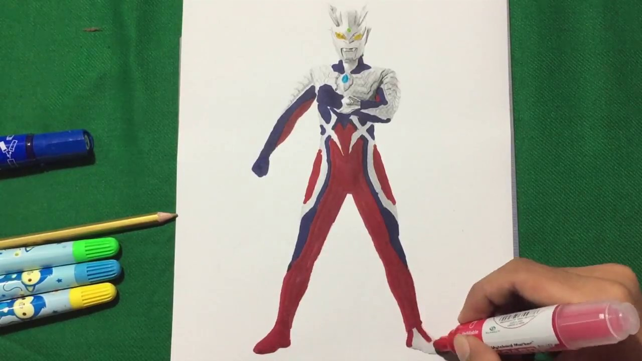 Ultraman ZERO Final Laser Coloring Pages SAILANY Coloring Kids