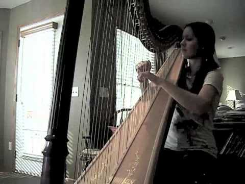Fireflies By Owl City Harp Cover Youtube
