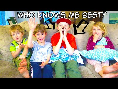 Who Knows Me Best Siblings Challenge! Getting to Know James! / The Beach House