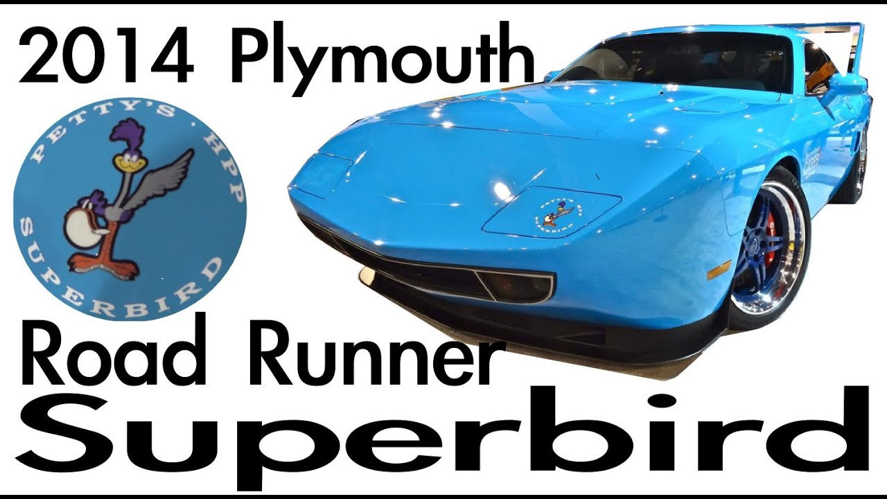 New Plymouth Roadrunner Superbird Concept