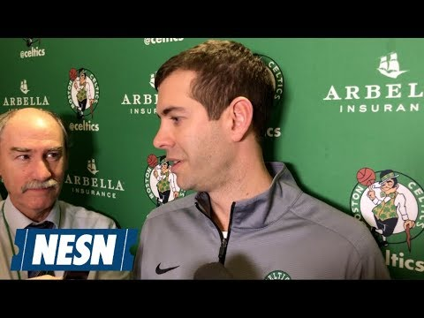 Brad Stevens Talks Jayson Tatum Winning Rookie Of The Month