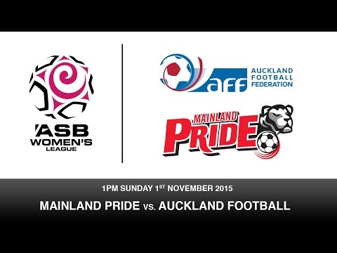 Mainland Pride v. Auckland Football - ASB Women's league | New Zealand Broadcasting School