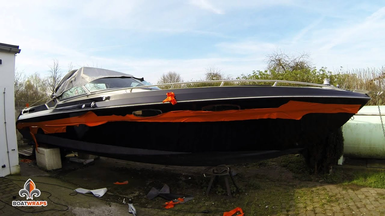 Vinyl Boat Wrap By Boatwrapsde YouTube - Baja boat decals easy removalremoving vinyl striping from your boat hull youtube