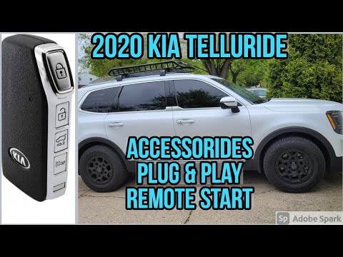 2020 Kia Telluride Remote Start Easy Install Plug and Play from Accessorides