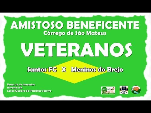 TV CÓRREGO - Amistoso beneficente dos Veteranos