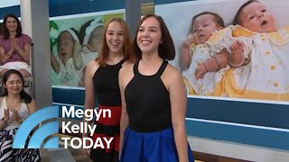 Conjoined Twin Sisters Tell Their Story: 'Being By Her … It's So Calming' | Megyn Kelly TODAY